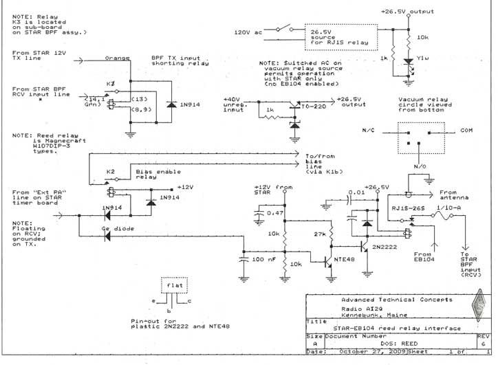 Reed Relay Circuit Diagram
